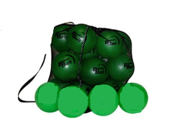 Drawstring net bag (empty) with strap store balls, sports equipm