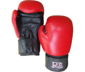 Pro like all leather sparring glove18oz Champion(size not weigh)
