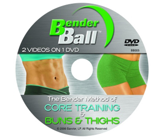 Bender Ball DVD Core training and Buns and Thighs - Click Image to Close