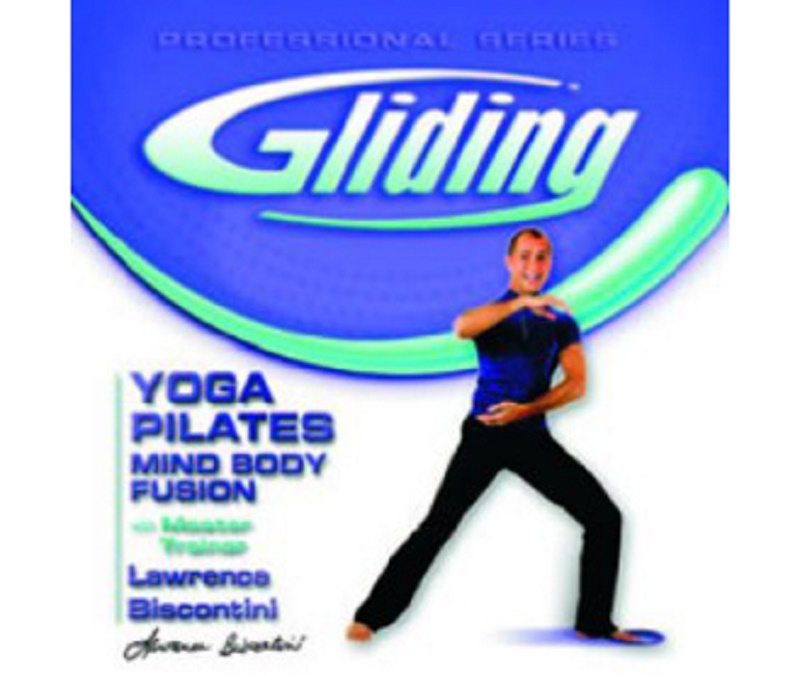 Gliding Yoga Pilates Mind Body Fusion DVD