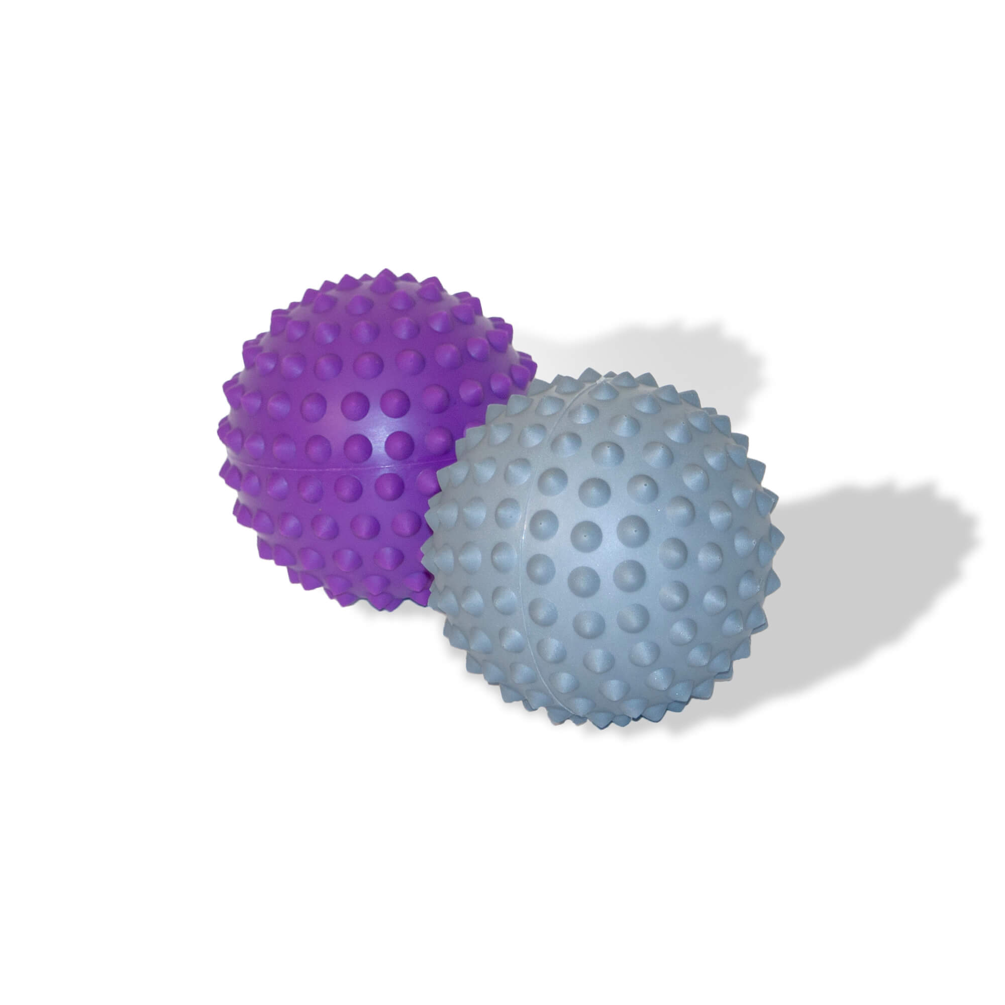 Prickle Stimulating Balls 10 ball value pack-Purple and Grey